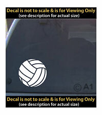 volleyball 6 inch decal 4 car truck home laptop quality made in usa SPT93