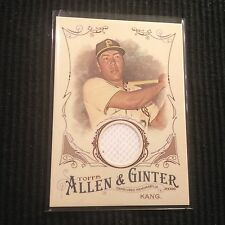 2016 TOPPS ALLEN GINTER JUNG HO KANG *GAME USED JERSEY RELIC B*  PIRATES