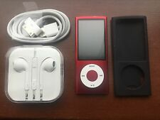 Apple 8GB iPod Nano 5th Generation A1320 Red Special Edition