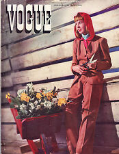 Vogue April 15 1940 Frissell Fashions in Living Horst Lud Chile Claire Boothe