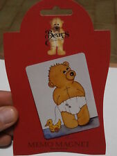 ** Rare refrigerator magnet SARAH JANE BEARS COLLECTION calamita frigo rara**