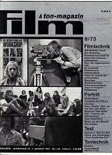 Film & Ton-Magazin 8/73 COSTA-GAVRAS Hark Bohm Tschetan der Indianerjunge REVOX