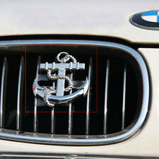 3D Decal Metal Emblem Badge Car Front Grille Side Logo for Anchor (silver)