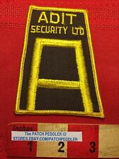 Security Guard Patch ~ ADIT SECURITY not sure, possibly Mumbai India 5DX