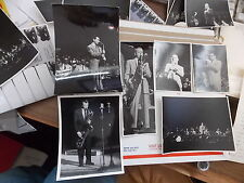 VINT PHOTO LOT OF JAZZ MUSICIANS PERFORMING IN ENGLAND
