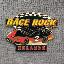 HAT PIN ~ RACE ROCK ~ ORLANDO ~ STOCK CAR
