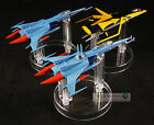 YAMATO STAR BLAZERS MECHANICAL Cosmo Zero Black Tiger Set Figher S202_203_205