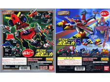 Bandai Popy Chogokin COMBATTLER V Gashapon set of 16 Mini Figure Part 4 & Part 5