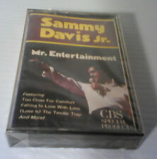 Sammy Davis Jr - Mr. Entertainment - Cassette - SEALED