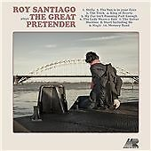 ROY SANTIAGO, PLAYS THE GREAT PRETENDER, 13 TRACK CD ALBUM FROM 2010 (MINT)