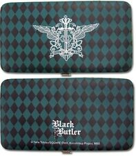 **License** Black Butler Ciel Phantomhive Emblem Clutch Wallet #81509