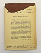 Domnei: A Comedy of Woman Worship by James Branch Cabell; Antique RARE 1927