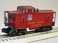 LIONEL UNION PACIFIC ILLUMINATED CABOOSE overland flyer o gauge train 6-30188 C