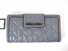 Nine West Womens Quilted Clutch Wallet GLAM SLAM SLG GLA/GLA MM New With Tag $39