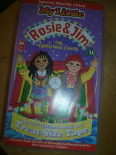 Rosie & Jim christmas lights Childrens Kids VHS VIDEO TAPE *500