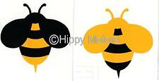Bumble Bees bee vinyl car sticker window decal caravan camper van transfer