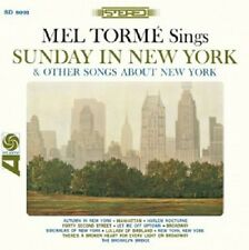 MEL TORME - SUNDAY IN NEW YORK & OTHER SONGS ABOUT NEW YORK  CD NEW+