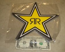 (1)~LARGE FACTORY ROCKSTAR ENERGY DIE CUT DECAL STICKER
