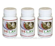 Delay Pills for Premature Ejaculation - 3 Bottles - Delay Orgasm and Last Longer