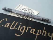 Pentel Paint Marker Calligraphy Silver