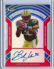 2007 TOPPS FINEST #FMA-BJ BRANDON JACKSON AUTO ROOKIE RC RED REFRACTOR #18/25