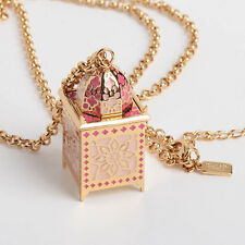 Kate Spade Rambling Roses Lantern Pendant Necklace New