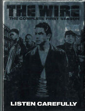 The Wire - The Complete First Season (DVD, 2004, 5-Disc Set) SEALED BRAND NEW