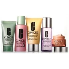 5 PCS Clinique Daily Essentials Set Oily Skin Eye+Gel+Lotion+Wash+Makeup Remover