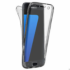 Shockproof Silicone Gel Full Protective Clear Case Cover For Samsung Galaxy