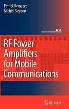 RF Power Amplifiers for Mobile Communications (Analog Circuits and Sig-ExLibrary