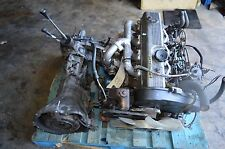 JDM MITSUBISHI PAJERO PICKUP 4D55 2.5L TURBO DIESEL ENGINE 4X4 TRANSMISSION #219