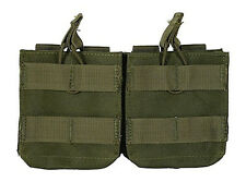 CONDOR  MA24 Double 7.62 Open Top Mag Pouch - Molle Holster - OD