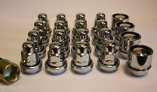 M12 X 1.5 VARIABLE WOBBLY ALLOY WHEEL NUTS & LOCKS VOLVO C30 C70 S40 V50