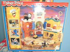 Fisher Price Imaginext Playset Western Town CITTA' FAR WEST New