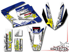 YAMAHA DT 125 R RE X FULL RACING DEKOR DECAL KIT Sticker Aufkleber KIT 2009-2017
