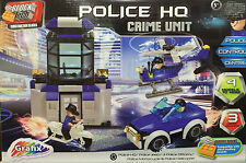 Police HQ Crime Unit - 228 Blocks - Brick By Brick ** GREAT GIFT **