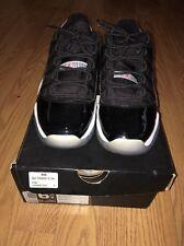 Air Jordan 11 Retro Low BG Black/infared