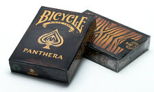 PANTHERA BICYCLE DECK OF PLAYING CARDS BY COLLECTABLE & USPCC TIGER MAGIC TRICKS