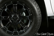 NEW TOYOTA TUNDRA BLACK GUNNER 20 INCH WHEELS 4 PIECE SET(TIRES NOT INCLUDED)