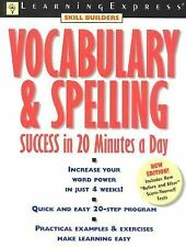 Vocabulary & Spelling Success (Learningexpress Skill Builders) Learning Express