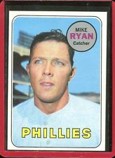 1969   Topps   Baseball   # 28   Mike Ryan       NM   Near Mint