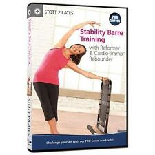 STOTT PILATES Stability Barre Training with Reformer and Cardio-Tramp Rebounder