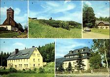 BÄRENSTEIN Erzgebirge DDR 5 Fotos Mehrbild-AK Verlag Bild & Heimat Reichenbach