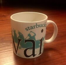 RARE Starbucks Coffee 2005 Mug Hawaii City Collector Series Cup Made in Thailand