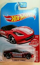Hot Wheels Target Exclusive Red Edition '14 Corvette Stingray #1/12 2017 C Case