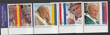 VATICAN :2004 Journeys of Pope Paul II in 2003  SG 1409-12 never hinged mint