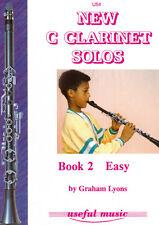 New C Clarinet Solos Book 2 Lyons C Clarinet, Clarineo Lyons