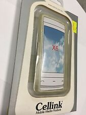 Nokia X6 TPU Flexi Case Cover Clear TPU4458-201. Brand New in Original packaging