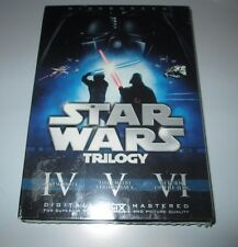 Star Wars Trilogy 6 DVD Box Set NEW SEALED 2008 Widescreen