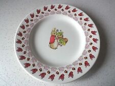 """EMMA BRIDGEWATER  PETER RABBIT FLOPSY PLATE 8.5"""" NEW 1st QUALITY  DISCONTINUED"""